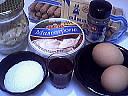 Ingrédients pour la recette : Tiramisu aux framboises
