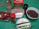Ingrédients pour la recette : Poêlée de foies de volaille au curry