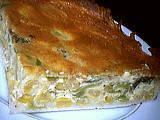 tarte aux poireaux et au maïs