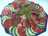Image : Assiette de langue en salade