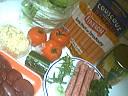 Ingrédients pour la recette : Salade tiède de rognon