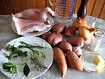 Ingrédients pour la recette : Soupe de raie aux herbes aromatiques