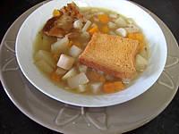 soupe de scorsonères
