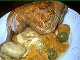 Recette Assiette de sauté de potiron et artichauts