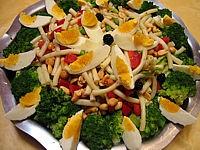 Recette Salade de pâtes aux brocolis