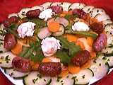 saint marcellin : Salade aux pissenlits