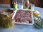Ingrédients pour la recette : Veau au potimarron