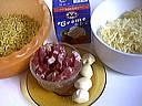 Ingrédients pour la recette : Pâtes coquillettes à l'ail