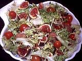 salade de châtaignes