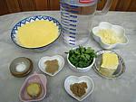 Ingrédients pour la recette : Polenta