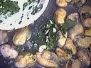 Salade tiède de moules aux primevères - 9.3