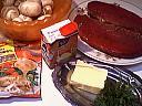 Ingrédients pour la recette : Pavé aux champignons