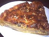 Cuisine diététique : Part de tarte au roquefort et poires