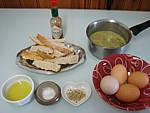 Ingrédients pour la recette : Oeufs cocotte à l'oseille