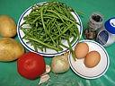 Ingrédients pour la recette : Haricots verts en salade