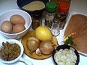 Ingrédients pour la recette : Croquettes de poulet