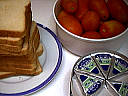 Ingrédients pour la recette : Tartines au fromage