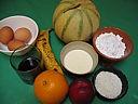 Ingrédients pour la recette : Melons meringués
