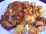 Image : Assiette d'escalopes panées grand-mère