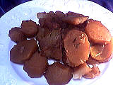Recette Pommes de terre parfumées au vin rouge