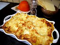 Image : Plat de lasagnes au potimarron et saint-agur