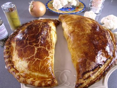 Image : recette Chaussons au chou-fleur et au thon