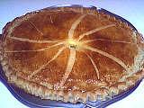 gâteau des rois farci de crème d'amande