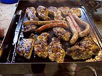 Différentes pièces de viande grillées