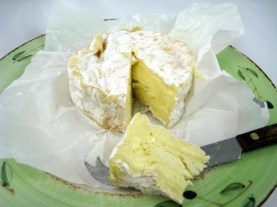 Photo : Le fromage camembert