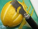 Couteau canneleur