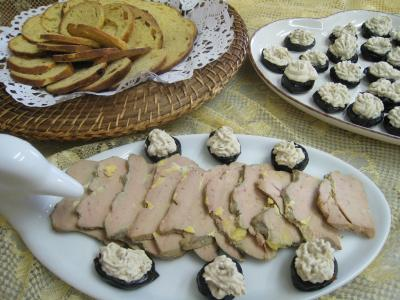 Photo : Foie gras aux pruneaux