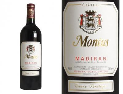 Photo : Madiran prestige Monteus en bouteille