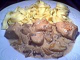 Tagliatelles au poulet