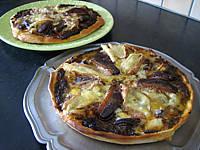 Pizza magret-reblochon