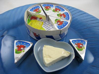 Photo : Assiette de vache qui rit