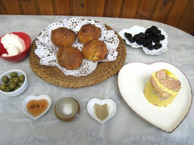 Ingrédients pour la recette : Foie gras aux pruneaux