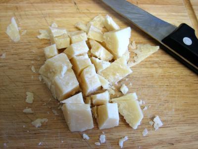 Souris d'agneau aux fèves et au parmesan - 4.1