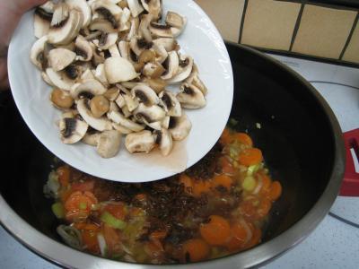 Feuilletés de ris de veau et champignons - 15.4