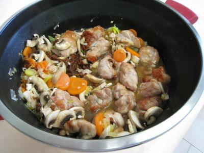 Feuilletés de ris de veau et champignons - 17.2