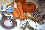 Ingrédients pour la recette : Velouté de tomates et de chou