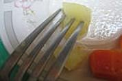 Velouté de carottes au foie gras et son oeuf mollet - 6.2