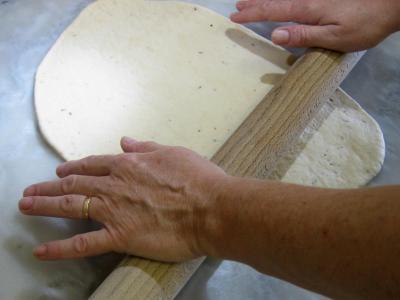 pâte à pizza : Préparation pâte à pizza