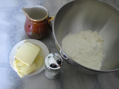Ingrédients pour la recette : Pâte brisée au robot