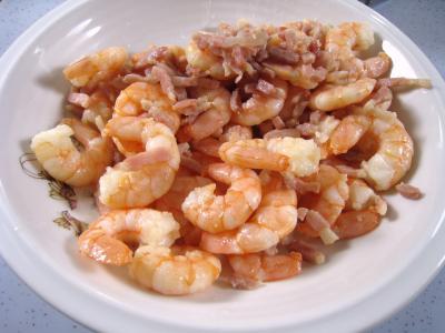 Velouté de chou aux crevettes - 10.1