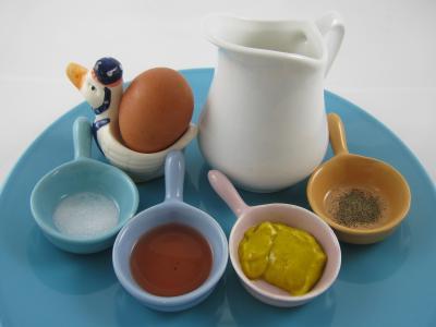 Ingrédients pour la recette : Sauce mayonnaise