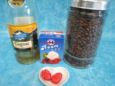 Ingrédients pour la recette : Café Charentais