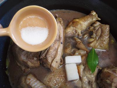 Coq au vin aux cèpes façon auvergnate - 12.4