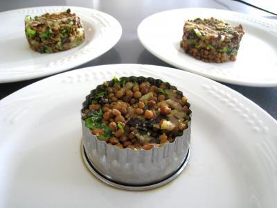 Foie gras aux lentilles et au vinaigre balsamique - 12.1