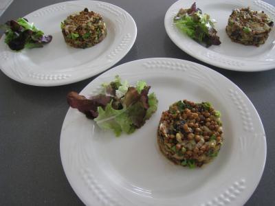Foie gras aux lentilles et au vinaigre balsamique - 12.3