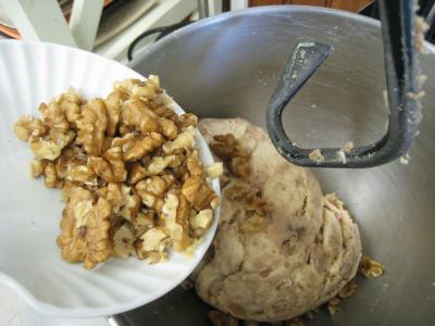 Couronne aux châtaignes, noix et raisins secs - 7.2